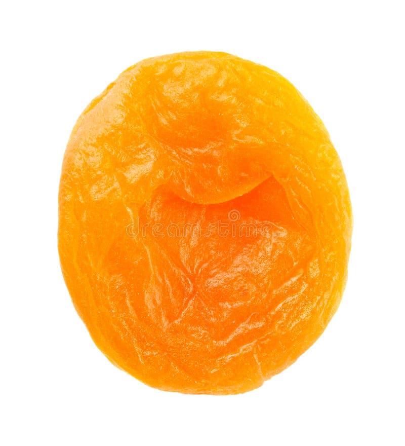 Verse droge abrikoos stock afbeeldingen