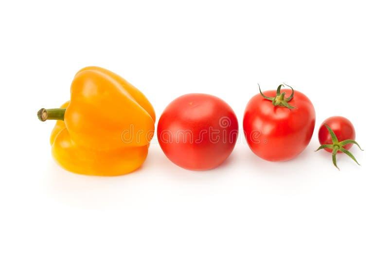 Verse en rijpe groenten Gezond voedsel royalty-vrije stock afbeelding