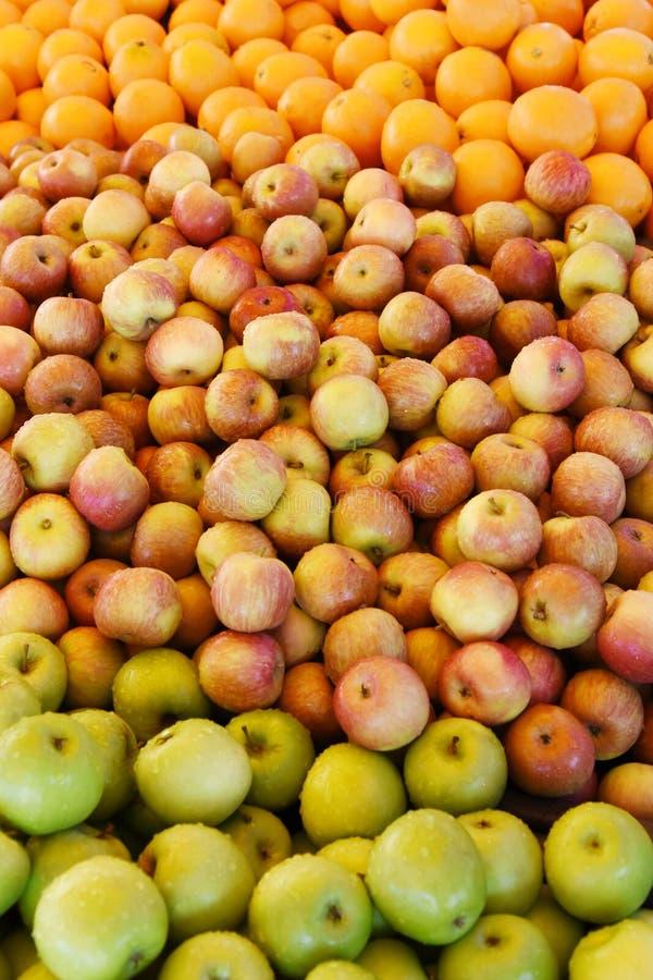 Verse gemengde vruchten stock foto's