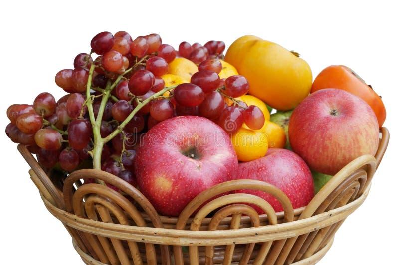 Verse gemengde vruchten stock foto