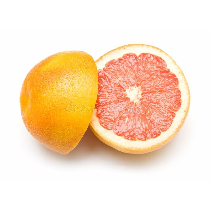 Verse grapefruit royalty-vrije stock afbeelding