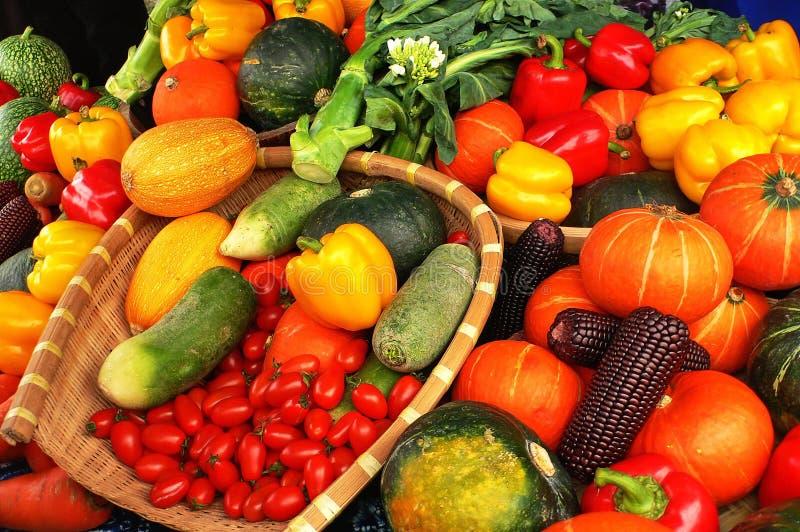 Verse groente royalty-vrije stock afbeelding