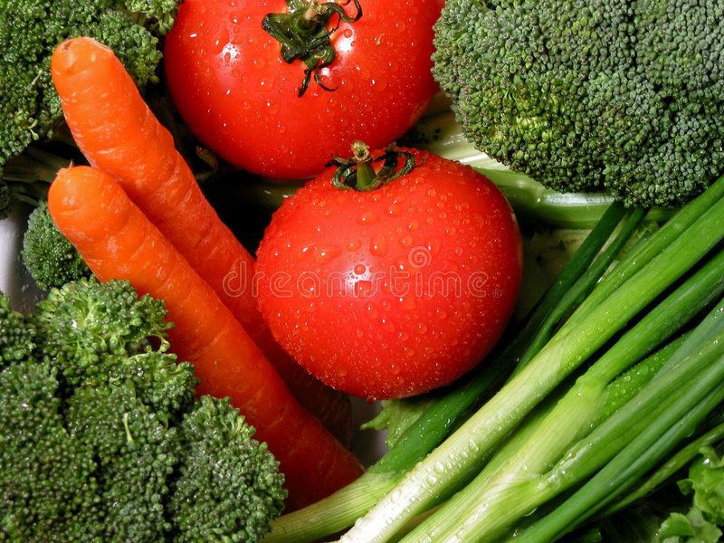 Verse groenten 1 stock foto