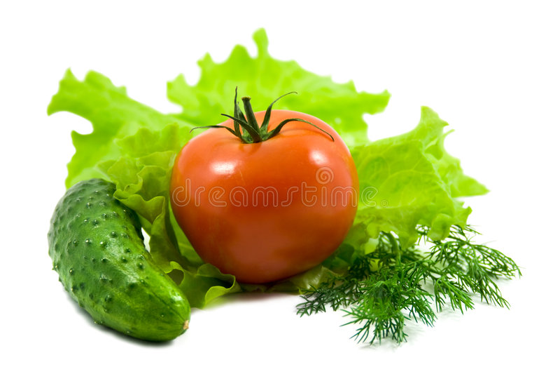 Verse groenten stock foto