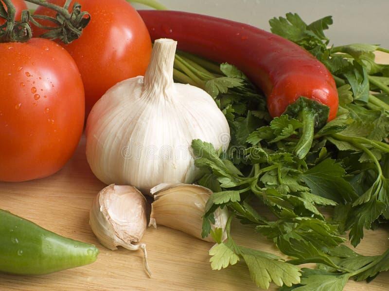 Verse groenten I royalty-vrije stock afbeelding