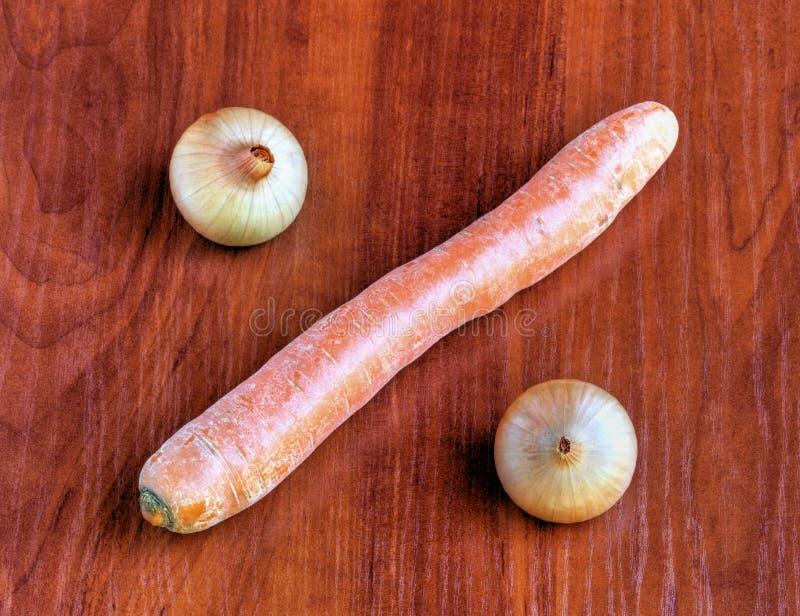 Verse groenten op houten achtergrond royalty-vrije stock foto's