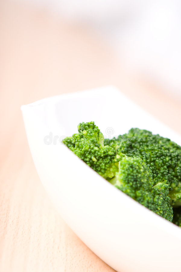 Verse groentenbroccoli stock foto