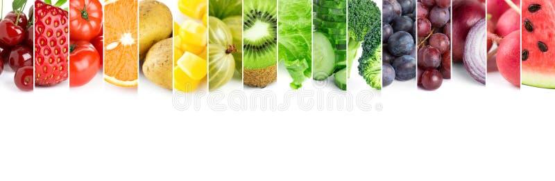 Verse kleurenvruchten en groenten royalty-vrije stock fotografie