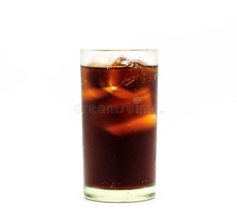 Verse kola in glas stock foto's