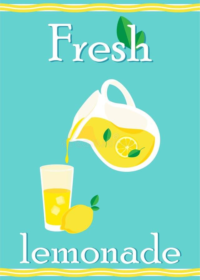 Verse Limonade stock illustratie
