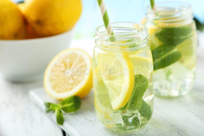 Verse Limonade royalty-vrije stock afbeelding