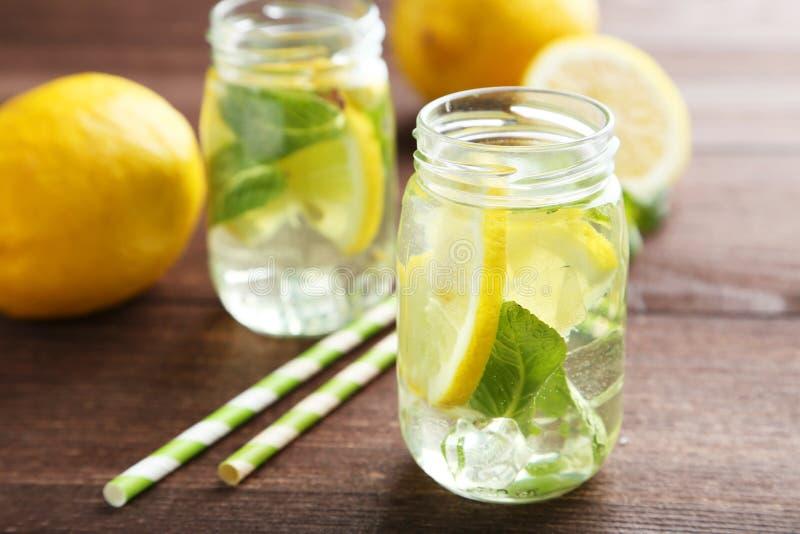 Verse Limonade stock fotografie