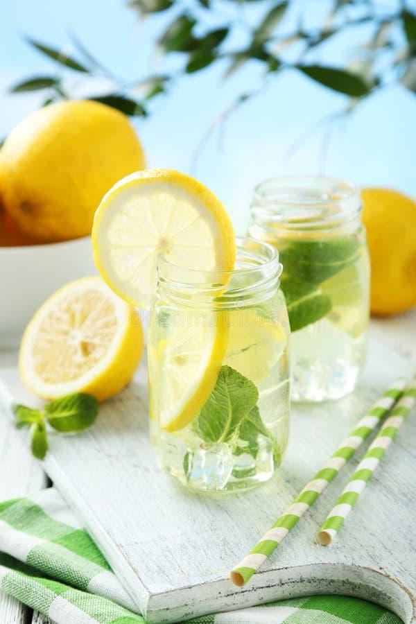 Verse Limonade royalty-vrije stock afbeeldingen