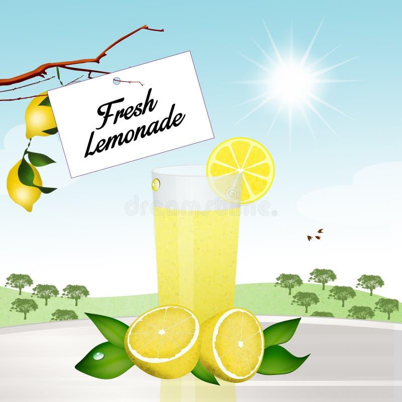 Verse Limonade vector illustratie