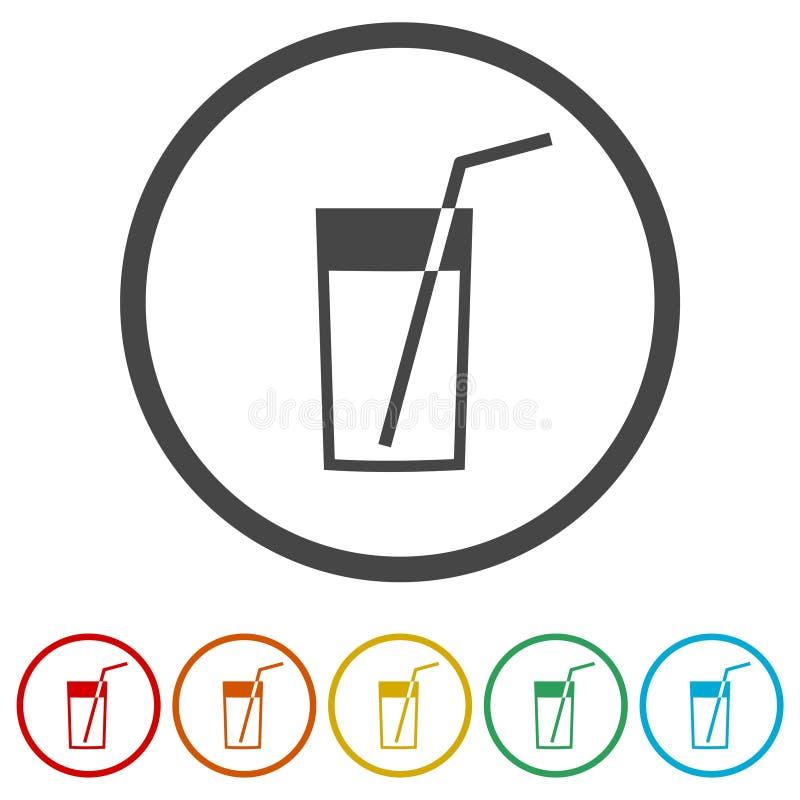 Verse Limonade - Illustratie, 6 Inbegrepen Kleuren stock illustratie