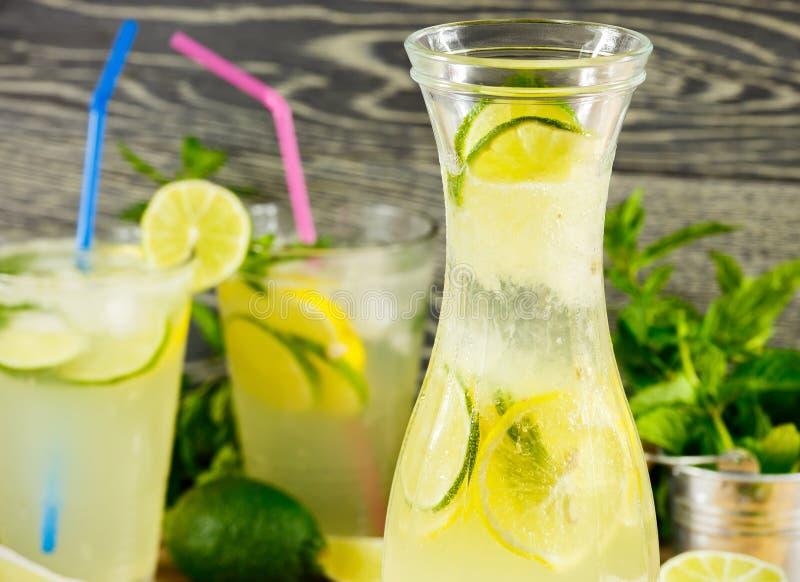 Verse limonadedrank royalty-vrije stock foto