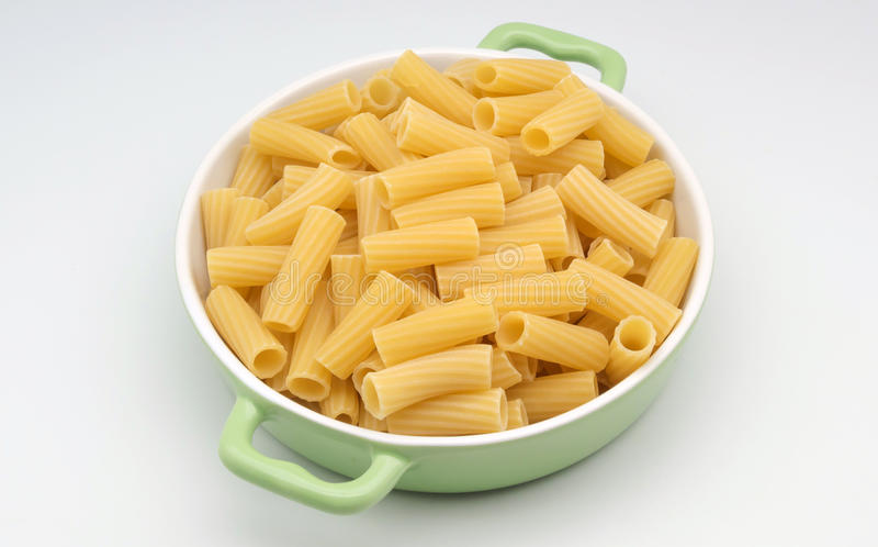 Verse macaroni stock afbeeldingen