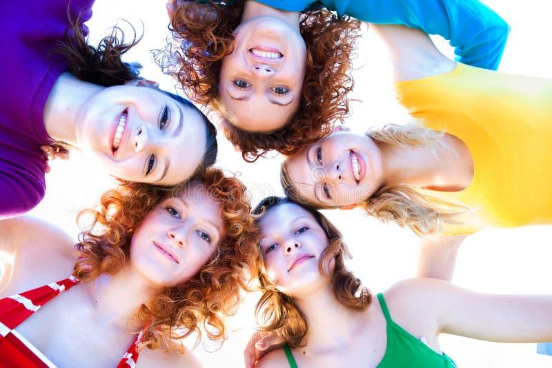 Verse meisjes royalty-vrije stock foto