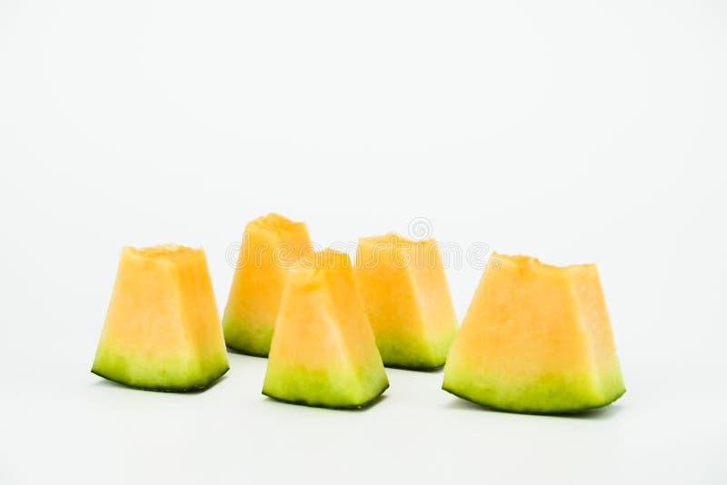 Verse meloen stock foto's