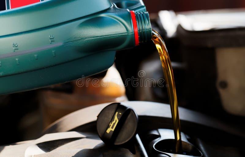 Verse motorolie royalty-vrije stock afbeelding