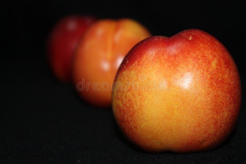 Verse Organische Nectarines stock afbeelding