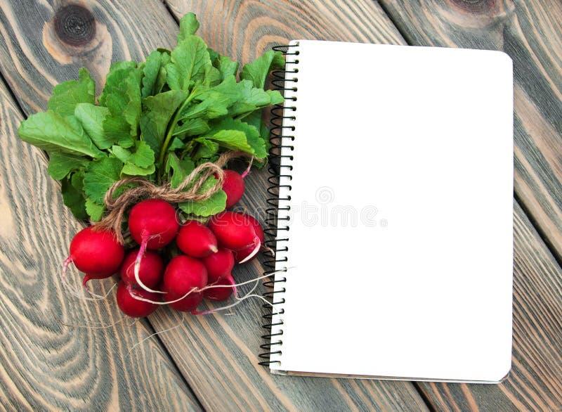 Verse organische radijs royalty-vrije stock afbeelding