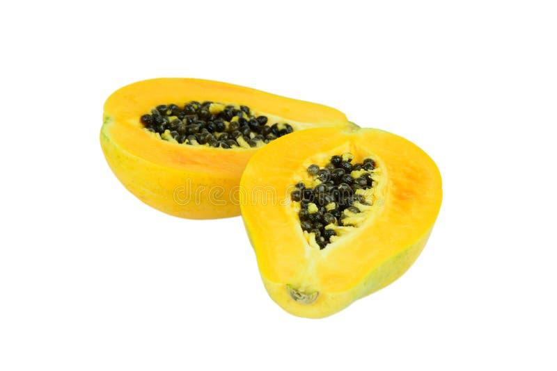 Verse papaja (papaja) royalty-vrije stock foto