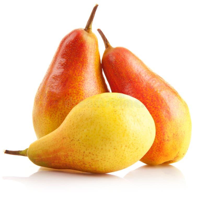 Verse perenvruchten   stock afbeeldingen