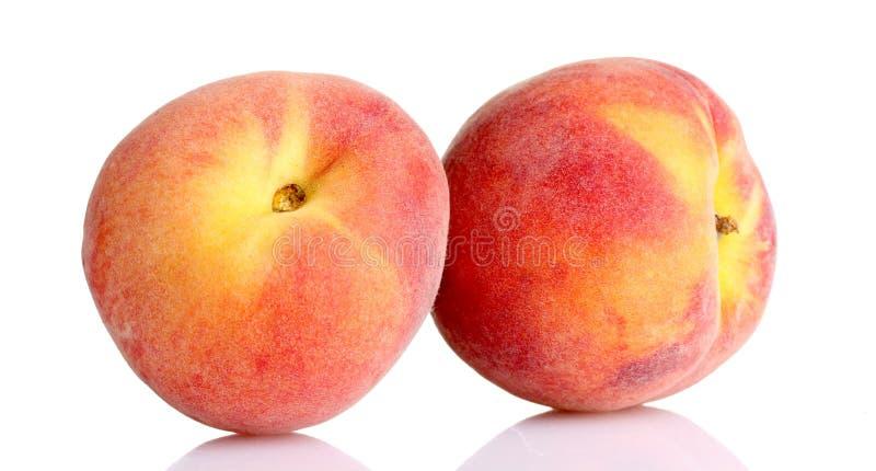 Verse perziken royalty-vrije stock foto's
