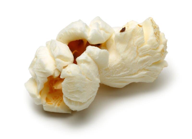Verse popcorn die op wit wordt ge?soleerdn royalty-vrije stock afbeelding