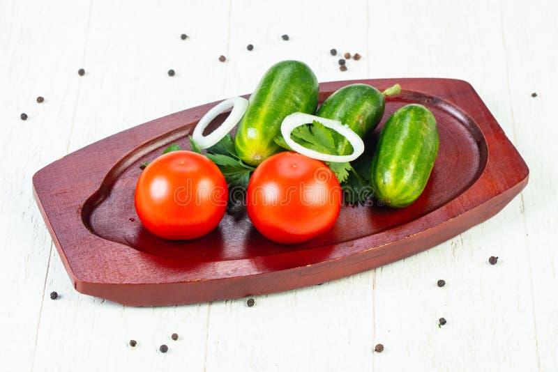 Verse rijpe groenten royalty-vrije stock afbeelding