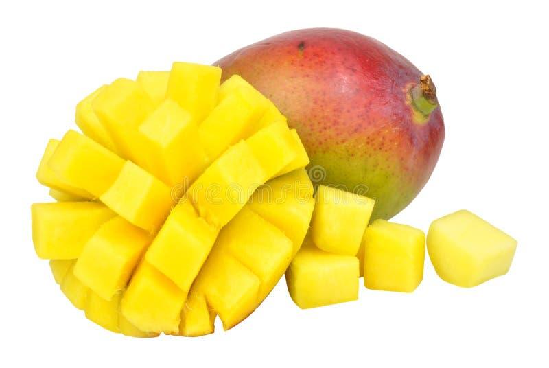 Verse rijpe mango's royalty-vrije stock afbeeldingen