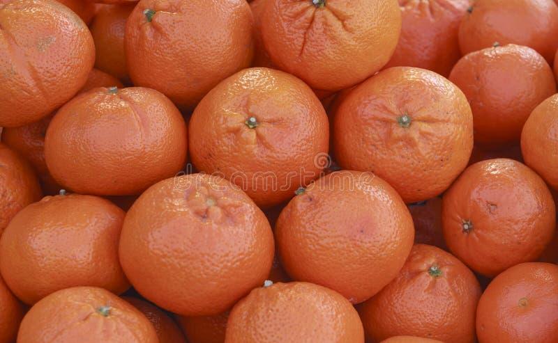 Verse rijpe sinaasappelen stock foto's