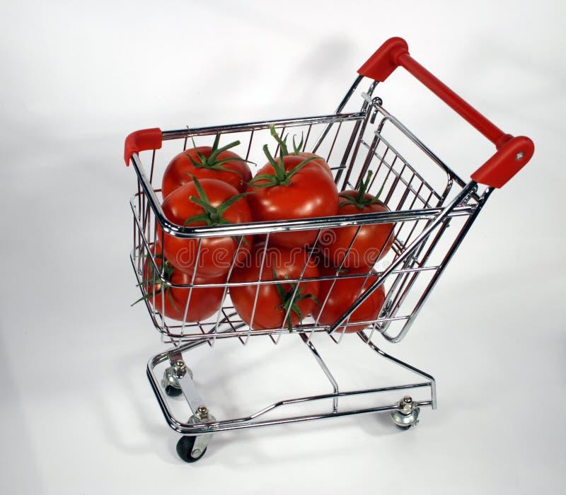 Verse rode tomaten stock foto's