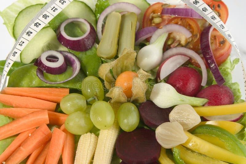 Verse salade 2 stock foto