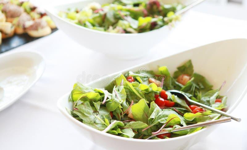 Verse salat royalty-vrije stock fotografie