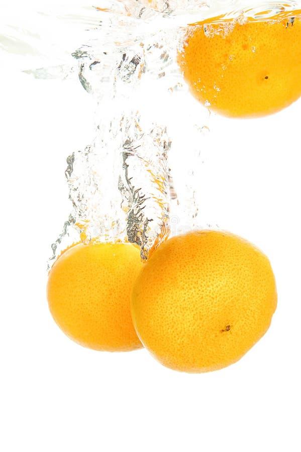 Verse sinaasappel royalty-vrije stock afbeeldingen