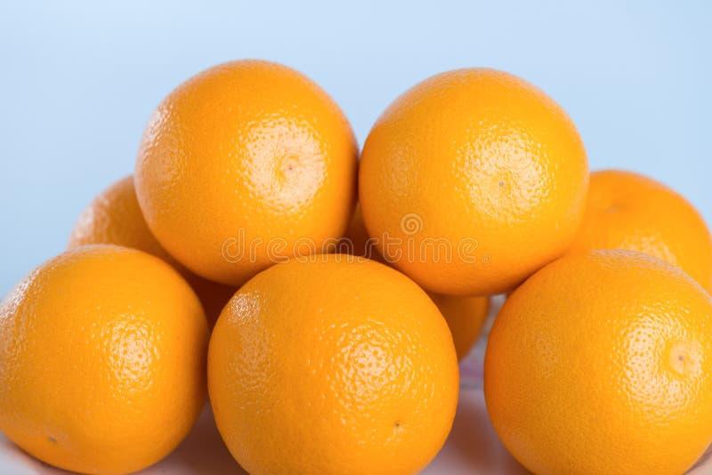 Verse sinaasappel stock afbeeldingen