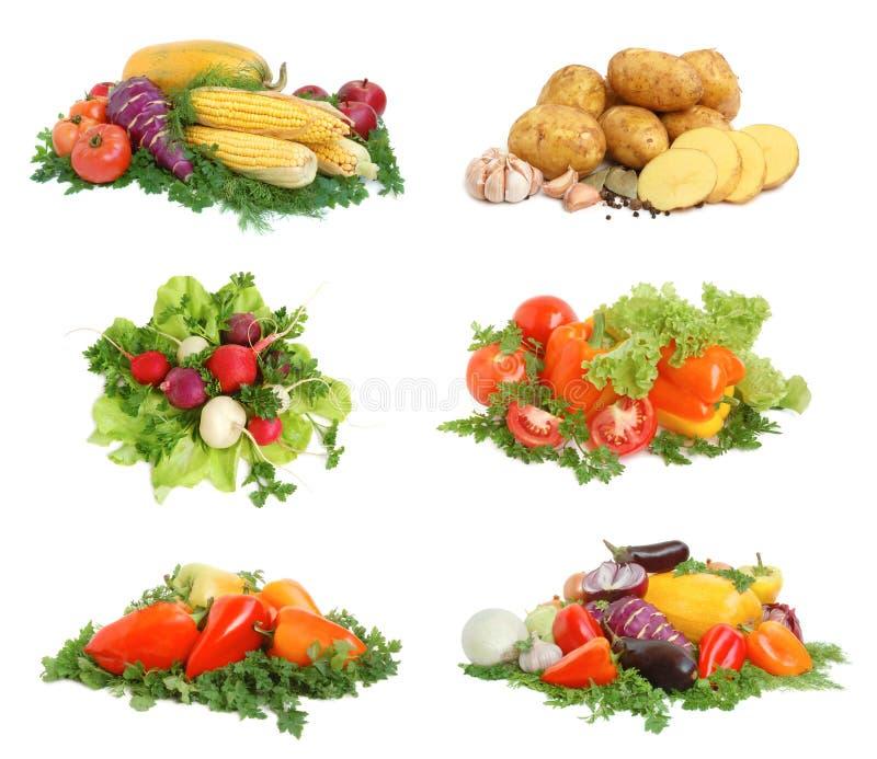 Verse smakelijke groenten stock foto