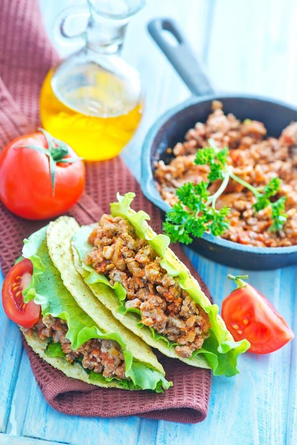 Verse Taco royalty-vrije stock afbeelding