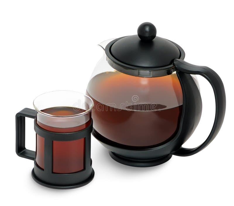 Verse thee van de paddestoel van berkchaga (obliquus Inonotus) royalty-vrije stock foto's