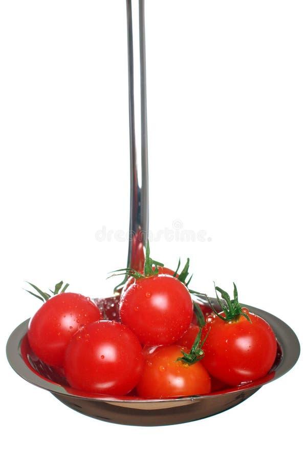 Verse tomatensoep royalty-vrije stock foto