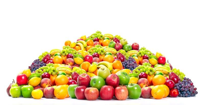 Verse tropische vruchten. royalty-vrije stock afbeelding