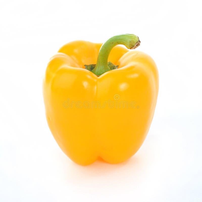Gele Groene paprika stock foto
