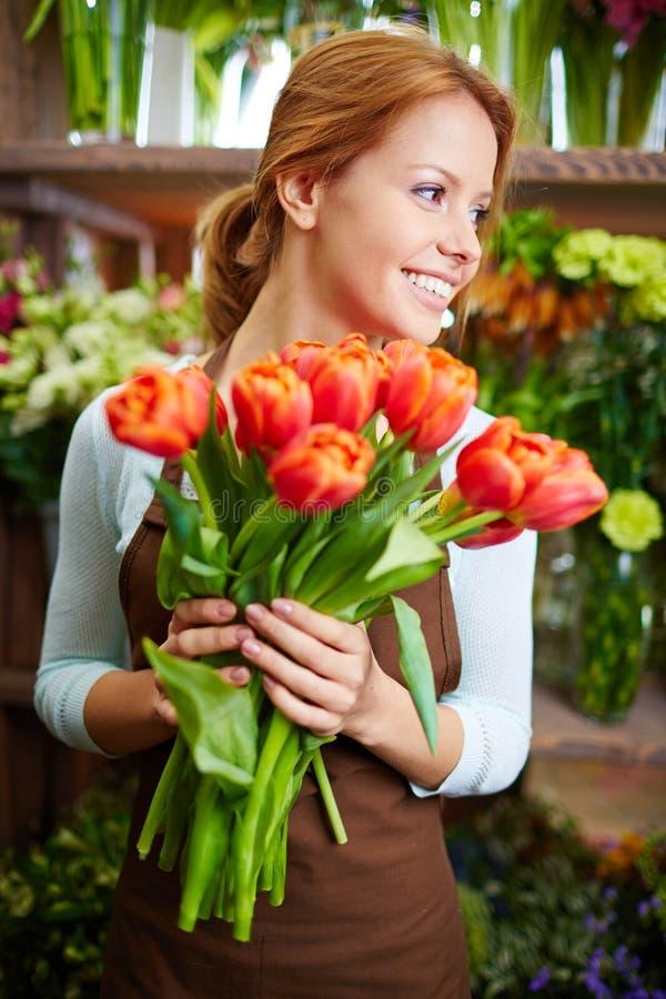 Verse tulpen stock foto
