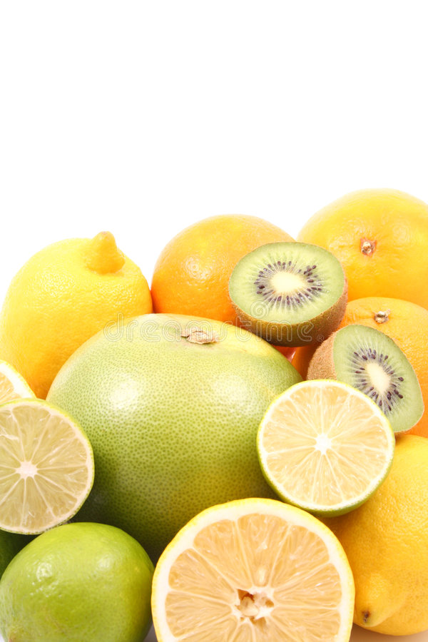 Verse vitaminen stock afbeelding