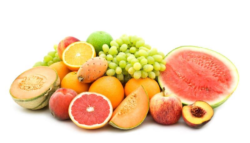 Verse vruchten royalty-vrije stock afbeeldingen