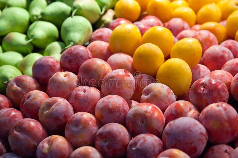 Verse vruchten royalty-vrije stock foto's