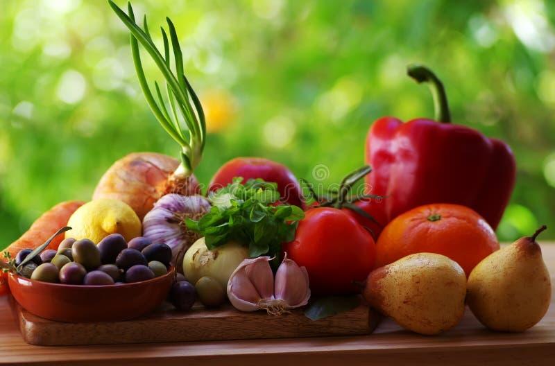 Verse vruchten en groenten stock fotografie