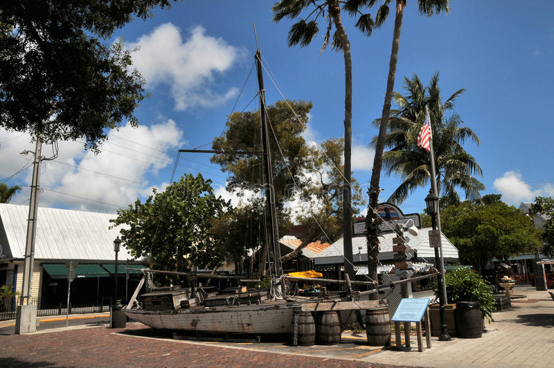Versenden Sie Replik in Key West Florida lizenzfreie stockfotos